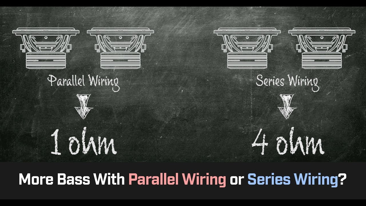 Parallel Wiring Vs Series More Bass Cahh Audio 101 Youtube Sub