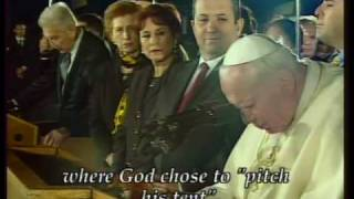 Pope John Paul II visit to the Holy Land - part I