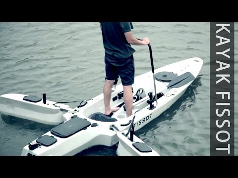 Fissot Fishing kayak with 40 bls motor by Fissot kayak from YouTube · High Definition · Duration:  3 minutes 1 seconds  · 642.000+ views · uploaded on 15.08.2016 · uploaded by jianlong Hu