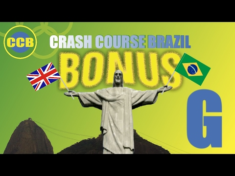 Bonus vocabulary : English words you can use in Brazil; letter G