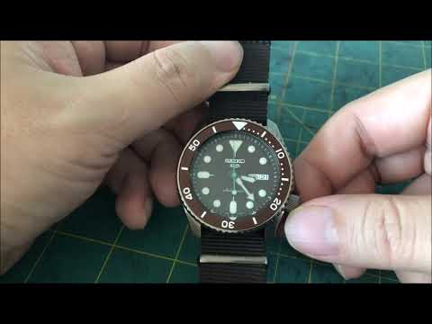 Short Review On The Seiko 5 Sports Sense Style NATO Strap SRPD85K1 By Watch Hobby