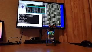 ROS трансляция видео с USB камеры по сети на роботе EduMip