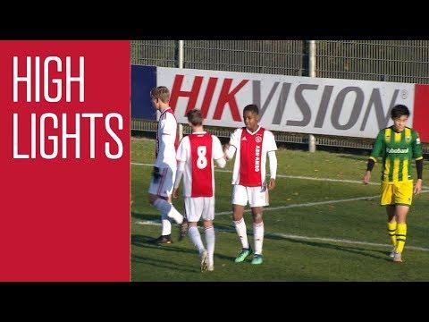 Highlights Ajax O16 - ADO Den Haag O16