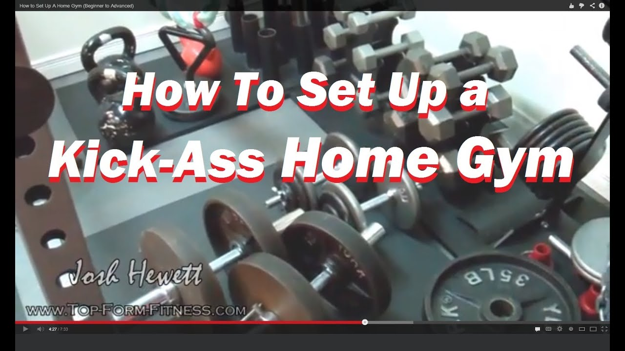 How to set up a kick ass home gym beginner to advanced youtube