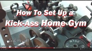 How To Set Up A Kick Ass Home Gym (beginner To Advanced)