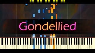 "Songs Without Words, Op. 30 No. 6 - ""Gondellied No. 2"" // MENDELSSOHN"