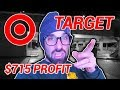 I Made $715 Profit in 1 Day  at Target 😱 Get Paid to Shop!!! Retail Arbitrage