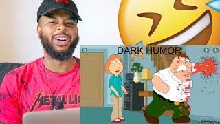 Dark Humor 🙃 | Family Guy Dark Jokes | Reaction
