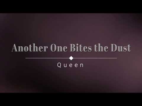 Queen - Another One Bites the Dust (Lyric Video) [HD] [HQ]