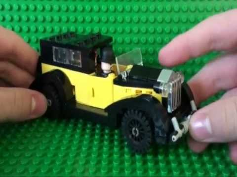 lego james bond rolls royce phantom goldfinger youtube. Black Bedroom Furniture Sets. Home Design Ideas