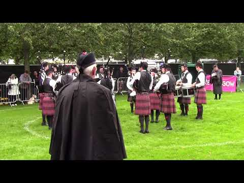 University of Bedfordshire Pipe Band - Worlds 2017