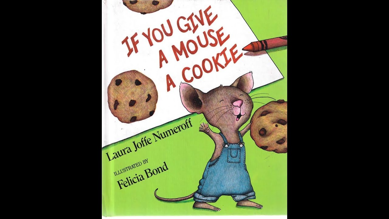 If You Give A Mouse A Cookie Animated Childrens Book Story Book