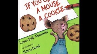 If you give a mouse a cookie - Animated childrens book - story book