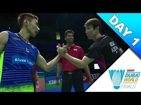 Dubai Superseries Finals 2016 | Day 1 | Lee Chong Wei vs Son Wan Ho [HD]