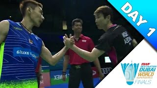 Dubai Superseries Finals 2016 | Day 1 | Lee Chong Wei vs Son Wan Ho [HD]