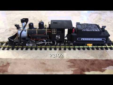 LGB 23192 G Gauge Model Train-Mogul with rare Penn Decals