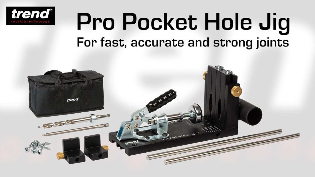 Trend Pro Pocket Hole Jig from Brighton Tools