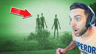 Vi a un extraterrestre.. (AYUDA)