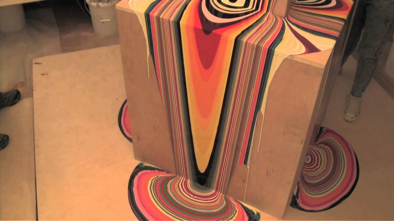 93afa2037143cf Using Gravity to Paint: Holton Rower & Amy Shackleton | The Kid Should See  This