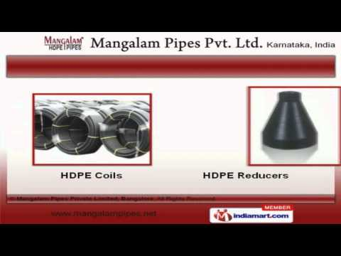 Industrial HDPE Pipe By Mangalam Pipes Private Limited, Bangalore, Bengaluru