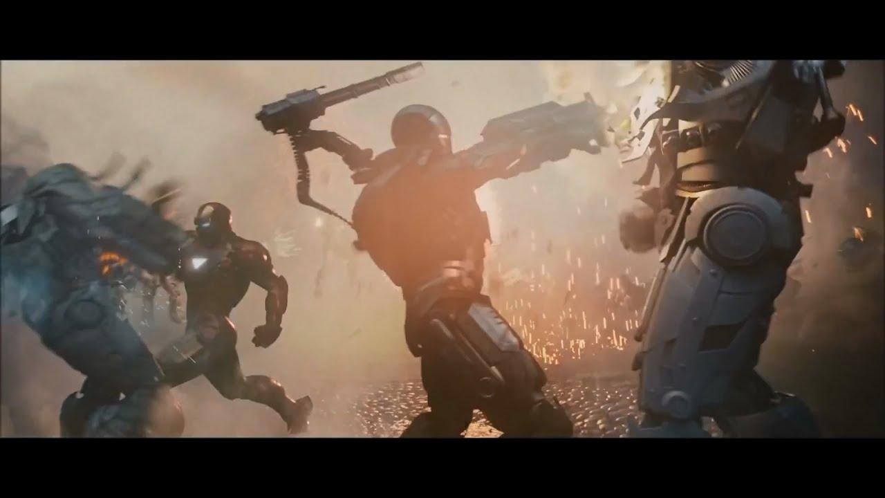 Iron Man 2 - War Machine (Music Swap 3) - YouTube