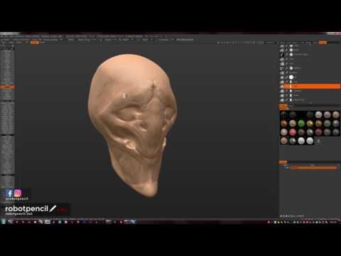 Facebook Livestream July 21, 2016 - More 3D Coat experiments