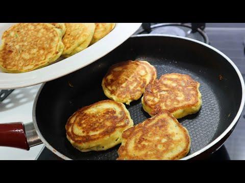 10 Minutes Turkish Style Savory Pancake (Kaşık Dökmesi)