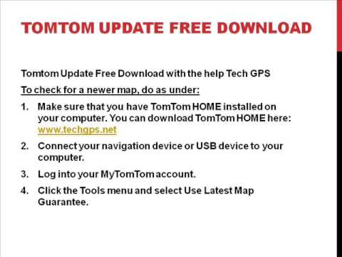 Tomtom update tomtom gps update | tomtom mydrive connect.
