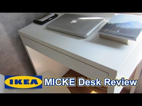 Ikea micke desk review youtube