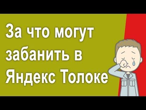#6 - Как заработать без вложений в Яндекс Толоке новичку и не попасть в бан