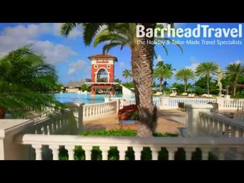 Sandals Grande Antigua Holidays 2018 / 2019 Drone Tour