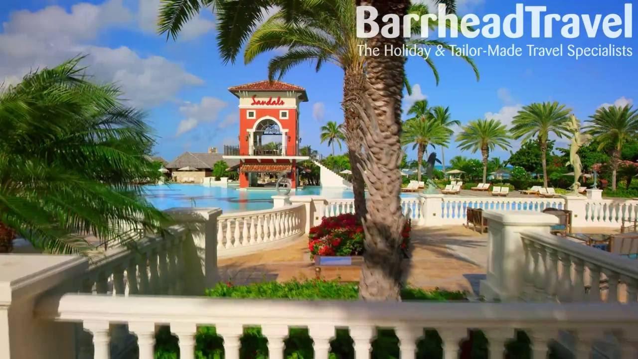Sandals Grande Antigua Holidays Drone Tour