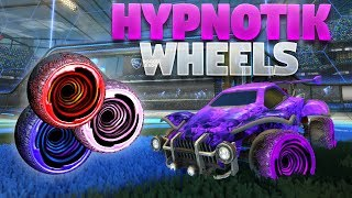 Download lagu All Painted HYPNOTIK Wheels On Rocket League MP3