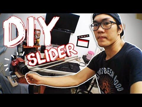 DIY SLIDER   Camera & Mobile   For Cinematic and Films   *Tagalog
