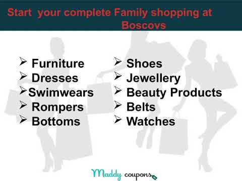 Shop More With Boscovs Coupons & Codes Today!