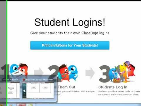 How To Get Students Into Class Dojo Student Accounts And Avatar Customization Youtube