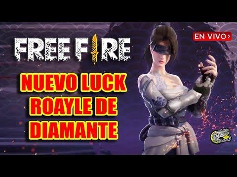 -🔴 Nuevo Luck Royale de Diamante - FREE FIRE - Flama Violete!! La Conseguiremos??