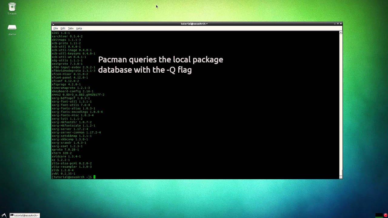 ArchLinux Pacman Tutorial [HD]