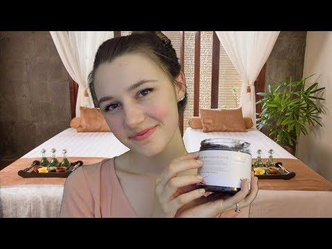 ASMR - Exfoliating Sugar Scrub | Spa
