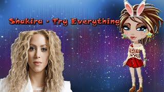 Shakira - Try Everything/#клип.