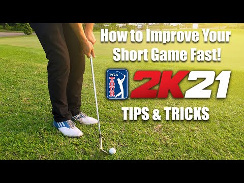 PGA Tour 2K21 Tutorial: How to Improve Your Short Game!! |