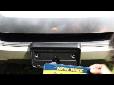 2006 Ford Explorer Front License Plate Bracket Installation