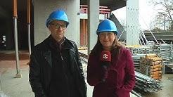 Baubeobachter vom alten DVB-Hochhaus in Dresden: Die wohl schnellste Baustelle Dresdens