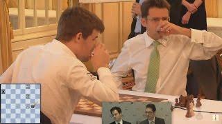 GM Levon Aronian vs GM Magnus Carlsen Chess Blitz