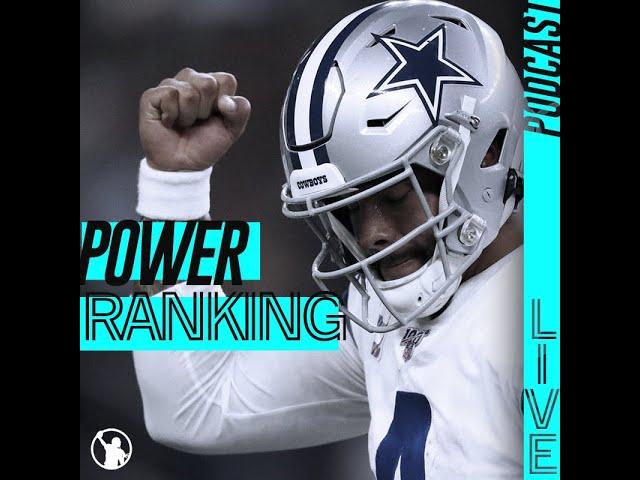 Le Power Ranking NFL de la rentrée