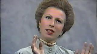 Princess Anne - Parkinson interview (part five) - with Captain Mark Phillips