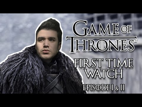 Game Of Thrones - First Time Watch (Episode 1 & 2)