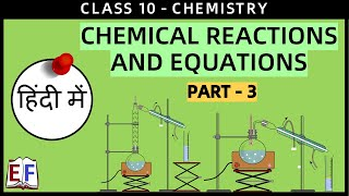 This video discusses about: - Types of Chemical Reactions - Combina...