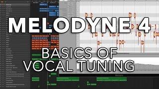 Melodyne 4 - Basics of Vocal Tuning