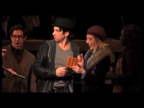 Get Knocked Out! Watch Andy Karl 'Keep on Standing' in